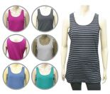 Wholesale Womens Ex Chainstore Vest Tank Top Multi